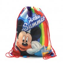 Mickey Mouse Gymbag Sportbeutel Rucksack Hello Summer