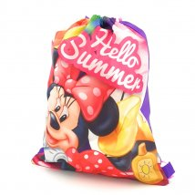 Minnie Mouse Gymbag Sportbeutel Rucksack Hello Summer