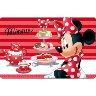 Minnie Mouse 3D Teller Untersetzer   6er Set